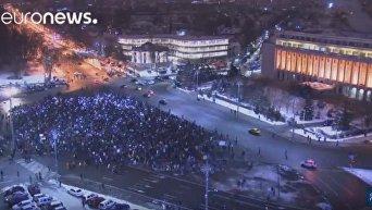 В Румынии 13-й день протестов