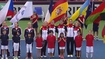 Гимн Третьего рейха прозвучал на теннисном турнире в США. Видео