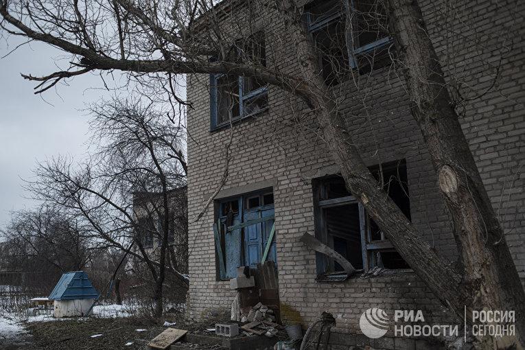 Ситуация после обстрелов Коминтерново в Донецкой области