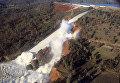 ЧП на плотине в Калифорнии