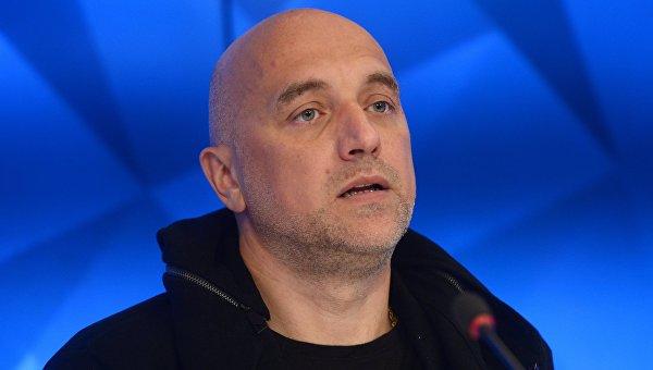 Руководитель ДНР вручил майорские погоны Захару Прилепину