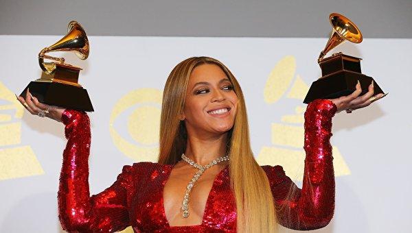 Бейонсе на ежегодной премии Грэмми в Лос-Анджелесе. Архивное фото