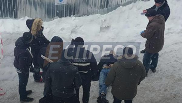 Появились детали убийства мужчины вцентре столицы Украины