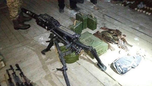 Оружие, изъятое у организации Аскер возле Чонгара