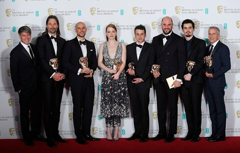 «Ла-Ла Лэнд» стал лучшим фильмом года поверсии английской киноакадемии