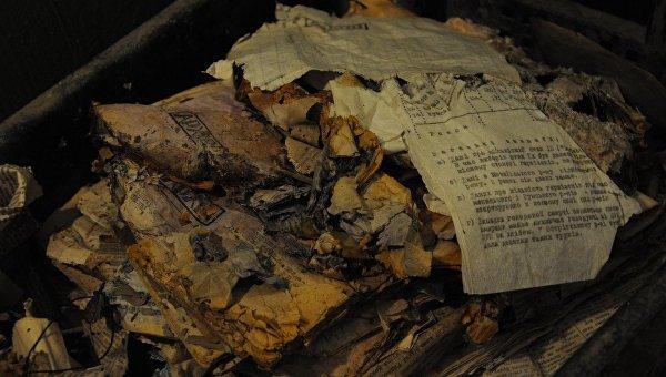 СБУ обнаружила в Тернопольской области архивные документы ОУН