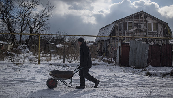 Ситуация в селе Веселое Донецкой области