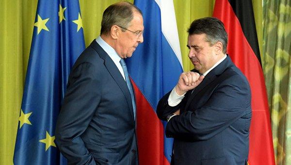 Руководителя МИД Российской Федерации иФРГ обсудили Украинское государство иСирию