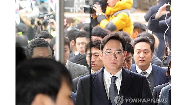 Фактический глава корпорации Samsung Ли Чжэ Ён