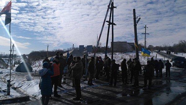«Наш ответ Гройсману»: участники блокады Донбасса выдвинули свои требования
