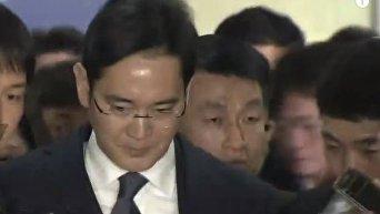 Арест главы Samsung