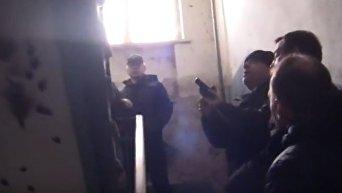 Освобождение заложника в Черкассах. Видео