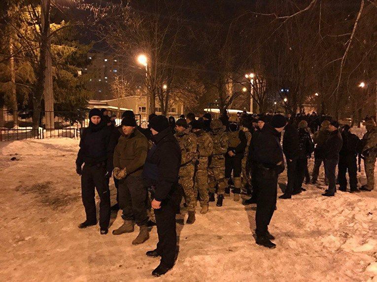 Стрельба в Харькове с участием бойцов батальона Донбасс и активистов Восточного корпуса