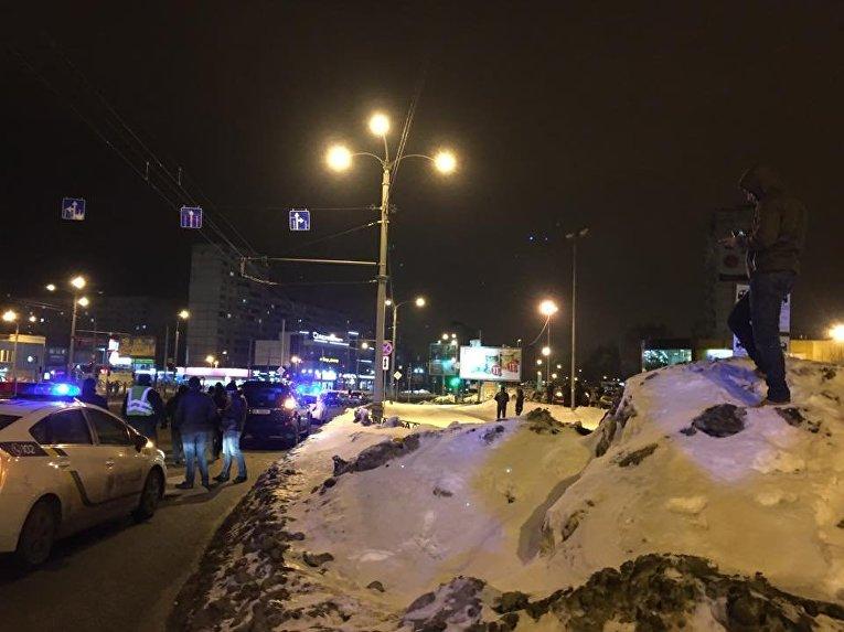 Вооруженный конфликт в Харькове на жилмассиве Алексеевка