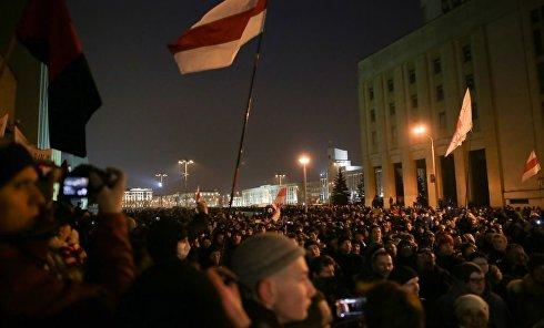 Марша рассерженных белорусов