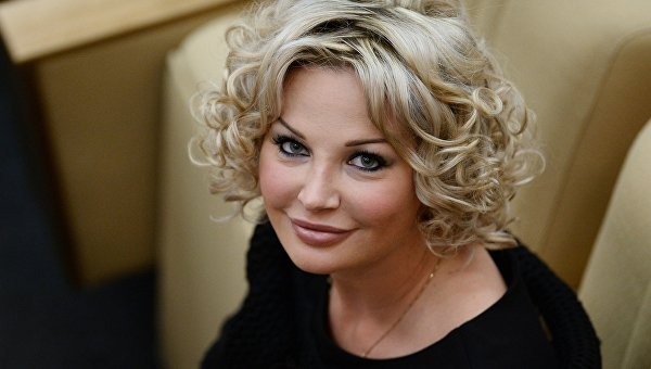Экс-депутат Государственной Думы РФ Мария Максакова-Игенбергс. Архивное фото