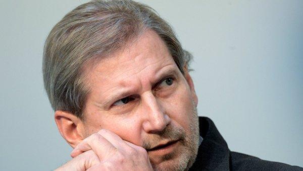 Еврокомиссар по политике соседства и расширению Йоханнес Хан