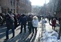 Мероприятия к третьей годовщине Евромайдана в Киеве