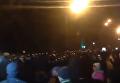 К месту стычки в Киеве подтянулся спецназ. Видео