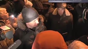 Нардепу Егору Соболеву разбили нос под АП. Видео