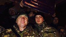 Освобождение лидера ОУН Николая Коханивского из отделения полиции Киева