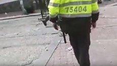Взрыв в Колумбии возле арены для боя быков. Видео