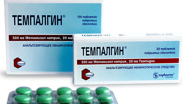 ВУкраинском государстве запретили таблетки от мигрени «Темпалгин»