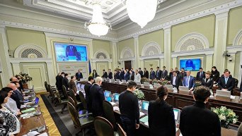 Заседанияе Согласительного совета руководителей фракций и председателей комитетов Верховной Рады в Киеве, 20 февраля, 2017