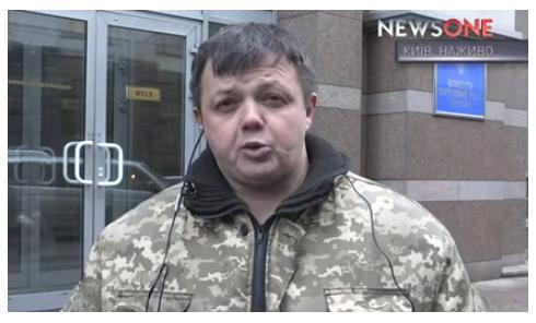 Блокада Донбасса. Комментарий Семенченко об инициативе Гройсмана. Видео