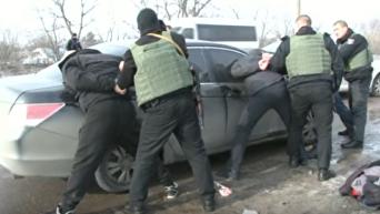 Задержание подозреваемых в покушении на убийство в Кропивницком. Видео