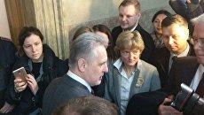 Дмитрий Фирташ в суде в Вене