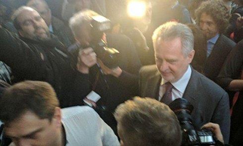 Дмитрий Фирташ после заседания суда в Вене