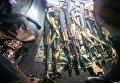 Автоматы, изъятые у военнослужащего ВМС в Одессе