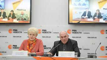 Видеомост Киев – Кишинев. Татьяна Тимочко и Александр Чистяков