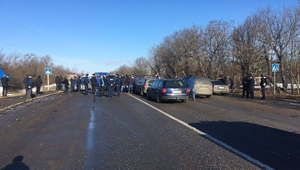 Подъездные дороги кграницам соСловакией, Румынией иПольшей заблокированы