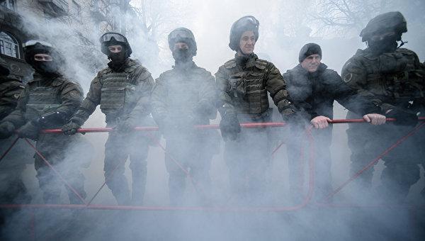 Марша национального достоинства в центре Киева