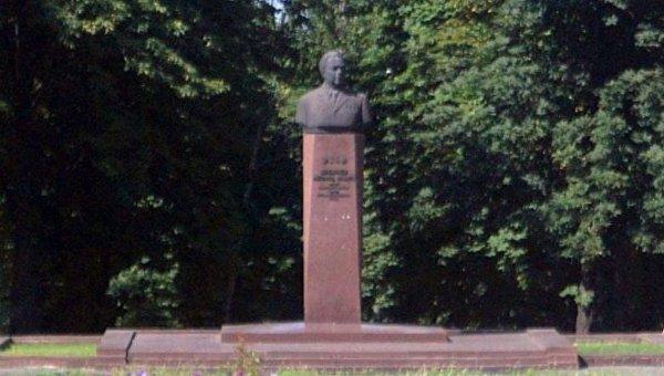 Бюст Брежнева в Каменском