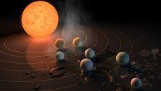 НАСА заявило об обнаружении семи планет, похожих на Землю