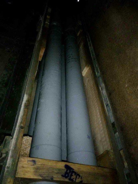 СБУ обнаружила тайник с авиационными ракетами в Донбассе