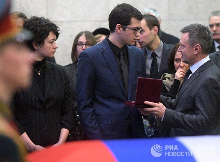 Прощание с Виталием Чуркиным
