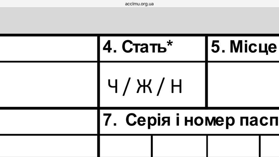 ВУкраинской медицине могут ввести «третий пол»