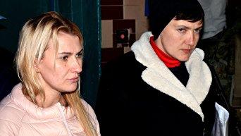 Надежда Савченко в ДНР