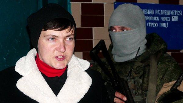 Савченко приехала в ДНР