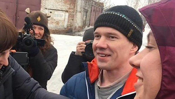 Активист Ильдар Дадин вконце концов вышел насвободу