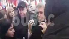 Председателя партии ПАРНАС Михаила Касьянова облили зелёнкой