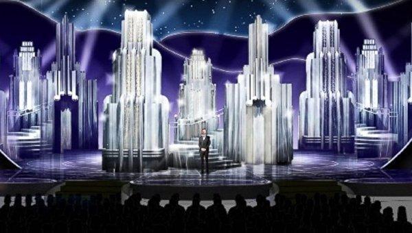 Церемония Оскар в Голливуде