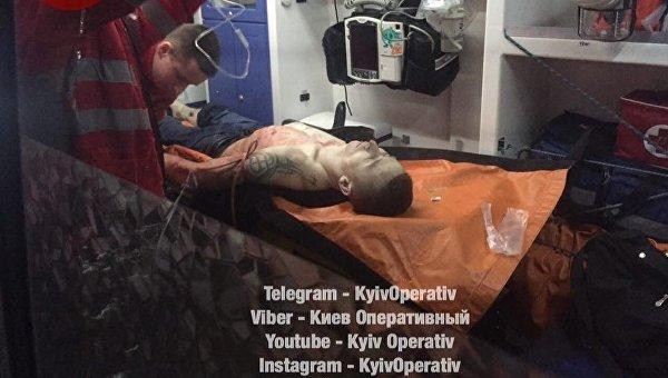 Конфликт маршрутчиков в Киеве
