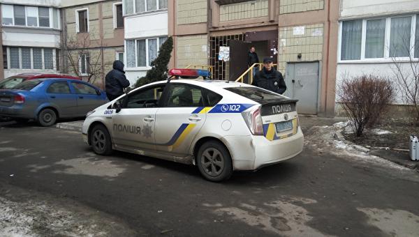 На месте инцидента в Киеве
