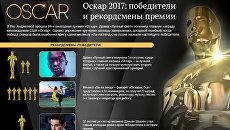 Победители и рекордсмены Оскара-2017. Инфографика