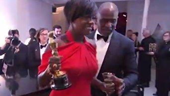 Победители и проигравшие на афтепати Оскара-2017. Видео